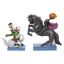 Load image into Gallery viewer, Disney The Adventures of Ichabod and Mr Toad 'Heads Up, Ichabod' Figurine