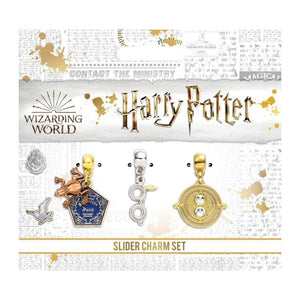 Harry Potter Chocolate Frog, Harry's Glasses and Time Turner Charm Set
