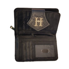 Load image into Gallery viewer, Harry Potter Hogwarts Castle Debossed Black Purse