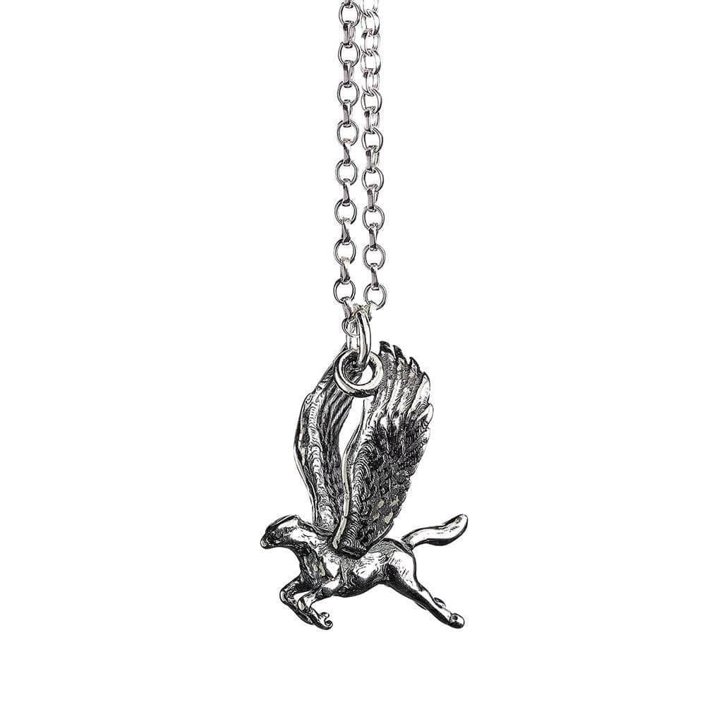 Harry Potter Sterling Silver Buckbeak Necklace