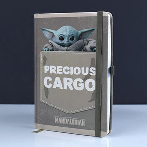 The Mandalorian Precious Cargo Premium A5 Notebook.
