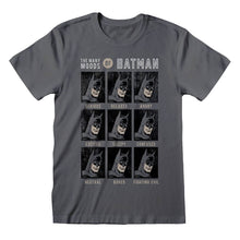 Load image into Gallery viewer, Men's DC Comics The Many Moods of Batman T-Shirt