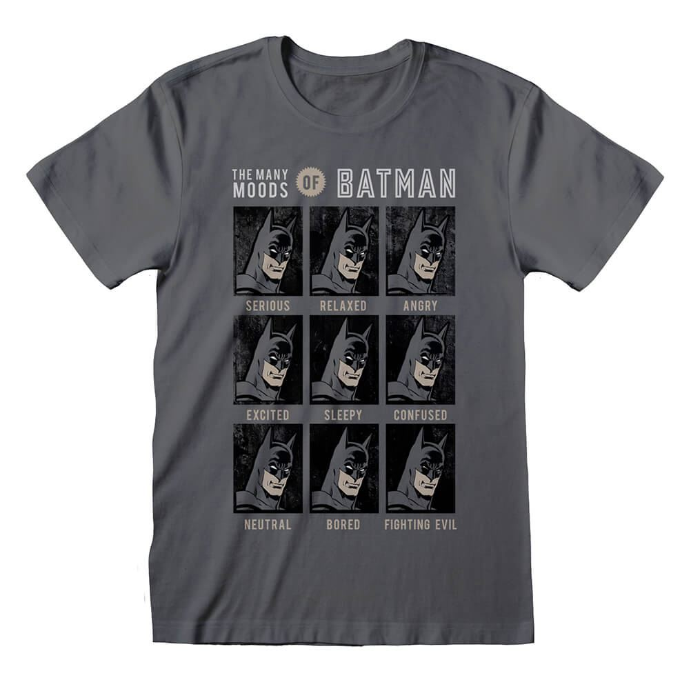 Men's DC Comics The Many Moods of Batman T-Shirt