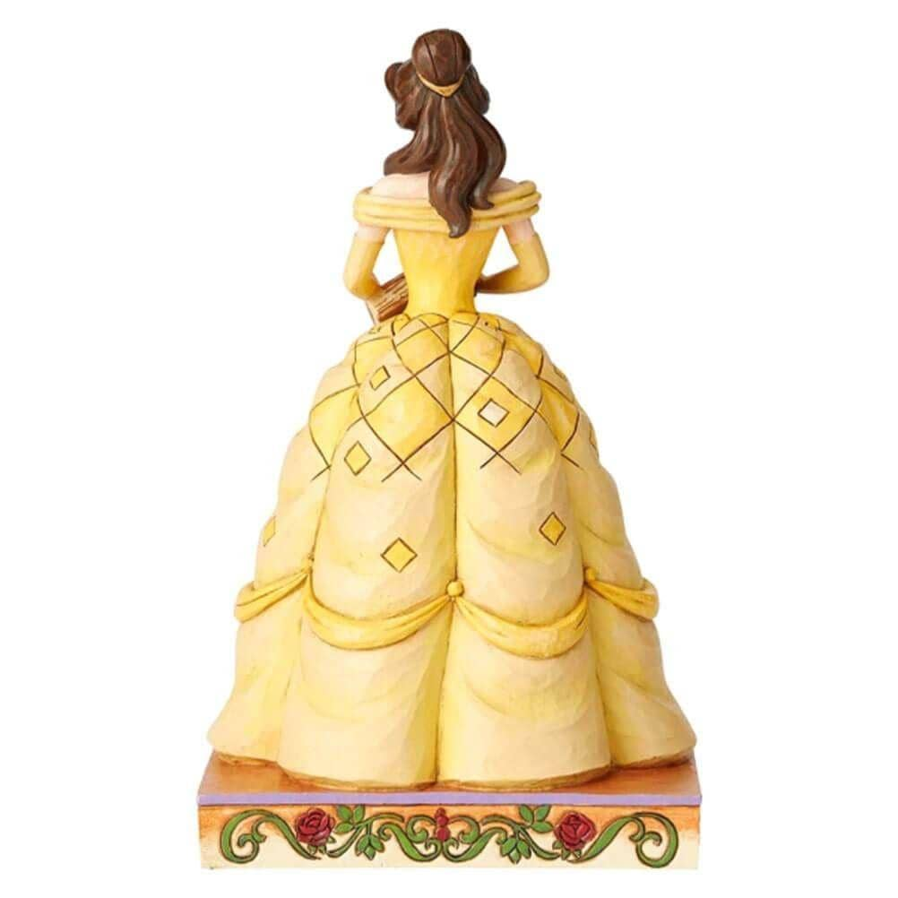 Back View of Disney Traditions Belle Princess Passion Figurine