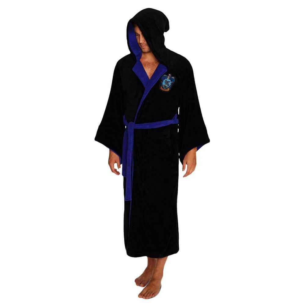Harry Potter Ravenclaw Wizard Fleece Dressing Gown