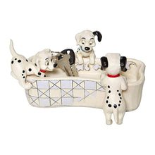 Load image into Gallery viewer, Disney Traditions 101 Dalmatians 'Puppy Bowl' Figurine.