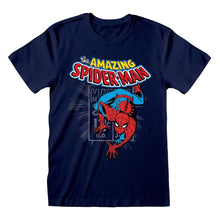 Load image into Gallery viewer, Men's Marvel The Amazing Spider-Man Comic T-Shirt