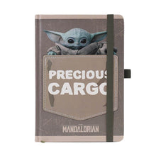 Load image into Gallery viewer, The Mandalorian Precious Cargo Premium A5 Notebook.