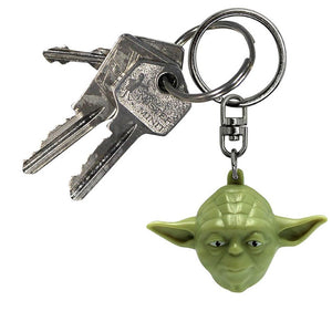 Star Wars Yoda Face 3D Keyring