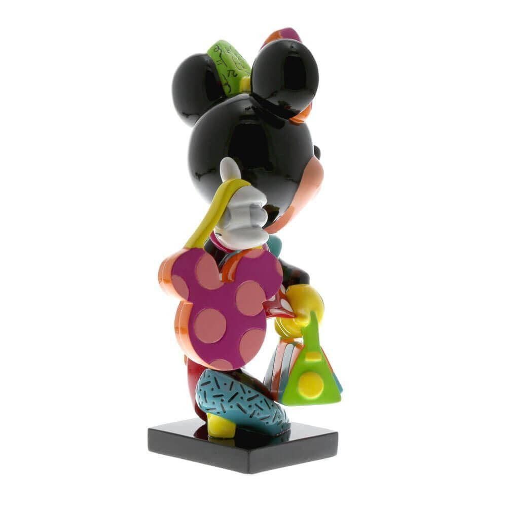 Back Right View of the Disney Britto Minnie Mouse Fashionista Figurine