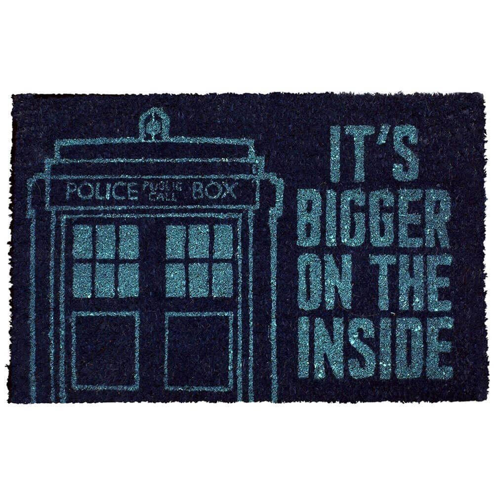 Doctor Who TARDIS Doormat