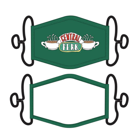Friends Central Perk Fabric Adjustable Face Mask