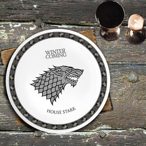 Game of Thrones 4 Piece Dinner Plate Set.
