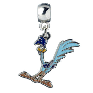 Looney Tunes Silver Plated Road Runner Slider Charm