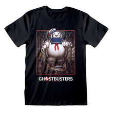 Load image into Gallery viewer, Men's Ghostbusters Stay Puft Poster Black T-Shirt