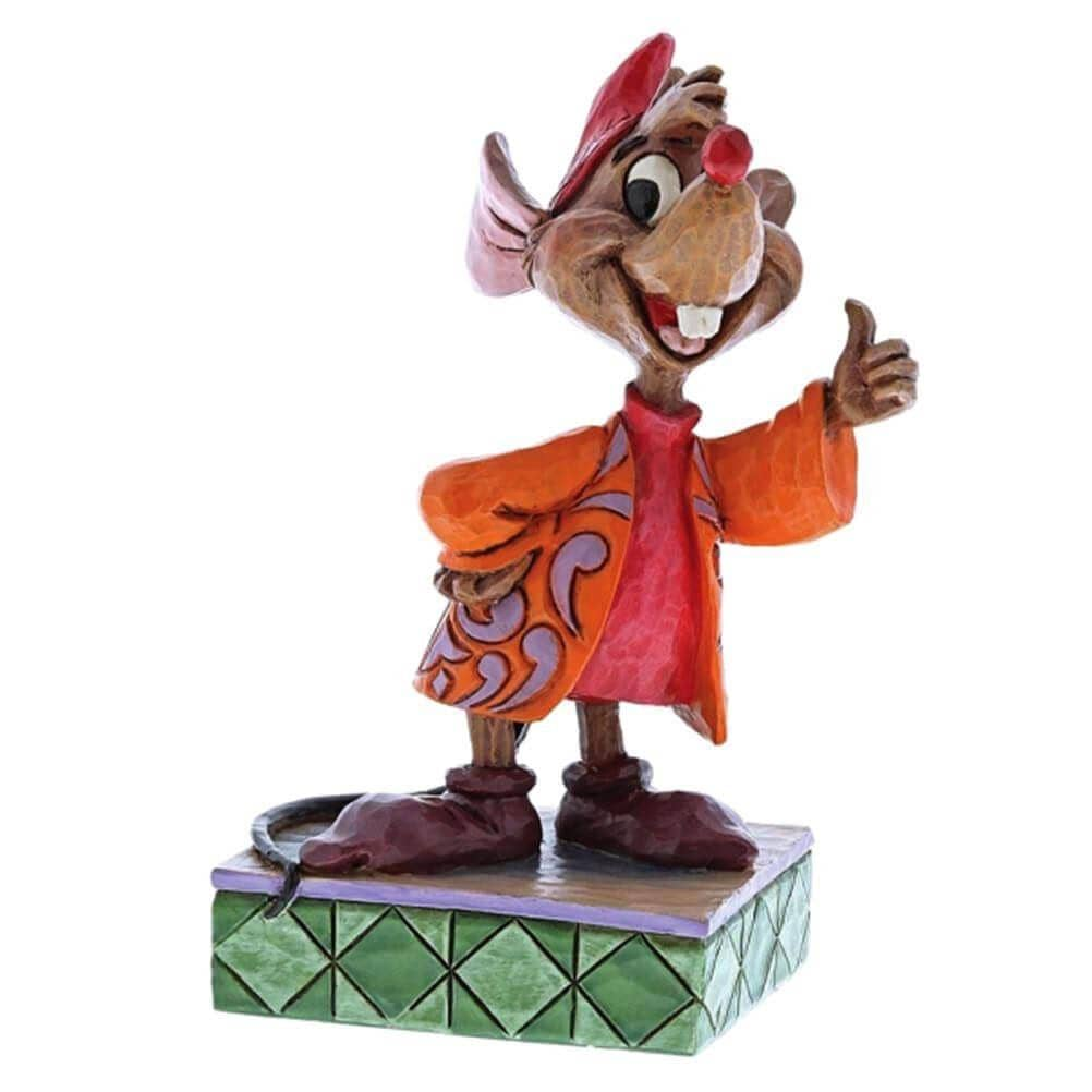 Disney Traditions Jaq 'Thumbs Up' Figurine