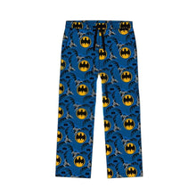 Load image into Gallery viewer, Men's DC Comics Batman Classic Suit Print Blue Lounge Pants