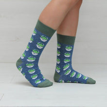 Load image into Gallery viewer, Men's The Mandalorian The Child Cute AOP Crew Socks