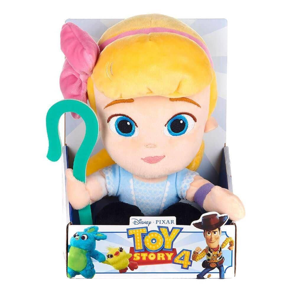 Front View of the Toy Story 4 Movie 10 Inch Bo-Peep Plush Toy in Gift Box