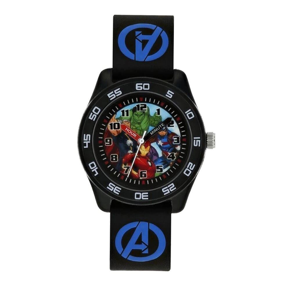 Marvel Avengers Black Analogue Watch