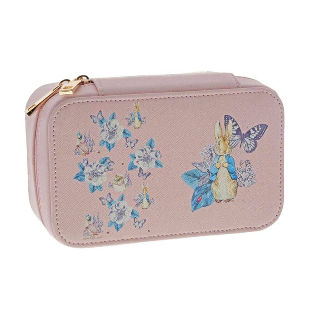 Peter Rabbit Garden Party Pink Jewellery Box