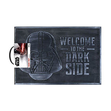 Load image into Gallery viewer, Star Wars Welcome to the Dark Side Rubber Doormat