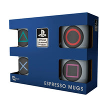 Load image into Gallery viewer, Playstation Game Controller Buttons Mini Mug Set