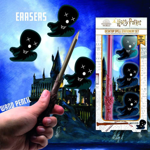Harry Potter Desktop Wand Shoot Stationery Set