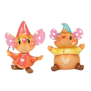 Disney Showcase Miss Mindy Jaq and Gus Gus Figurine