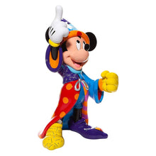 Load image into Gallery viewer, Disney Britto Sorcerer Mickey Mouse Statement Figurine.