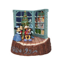 Load image into Gallery viewer, Disney Mickey Mouse Christmas Carol Carved by Heart Figurine