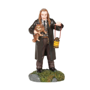 Harry Potter Filch and Mrs. Norris Mini Figurine