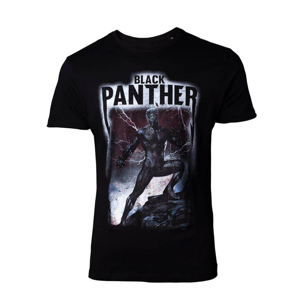 Men's Marvel Black Panther Movie Inspired T-Shirt