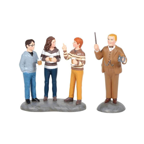 Harry Potter Professor Slughorn and The Trio Mini Figurine.