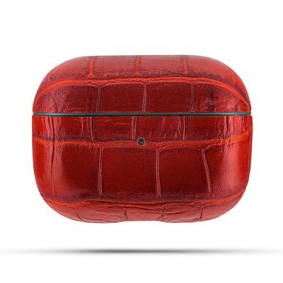 Crimson Red Caiman Series Airpods Pro Case
