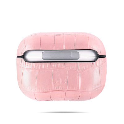 Glossy Pink Caiman Series Airpods Pro Case