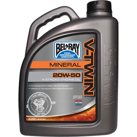 Bel-Ray V-TWIN MOTOR OIL 20W-50 4 L