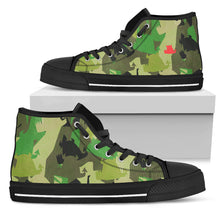 Ladies High Tops • Forest Fun • - Beasties Clothing