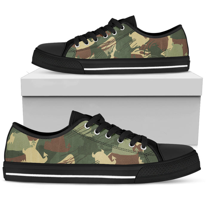 Men's Low Top • Rhodesian Bush Beasties • - Beasties Clothing