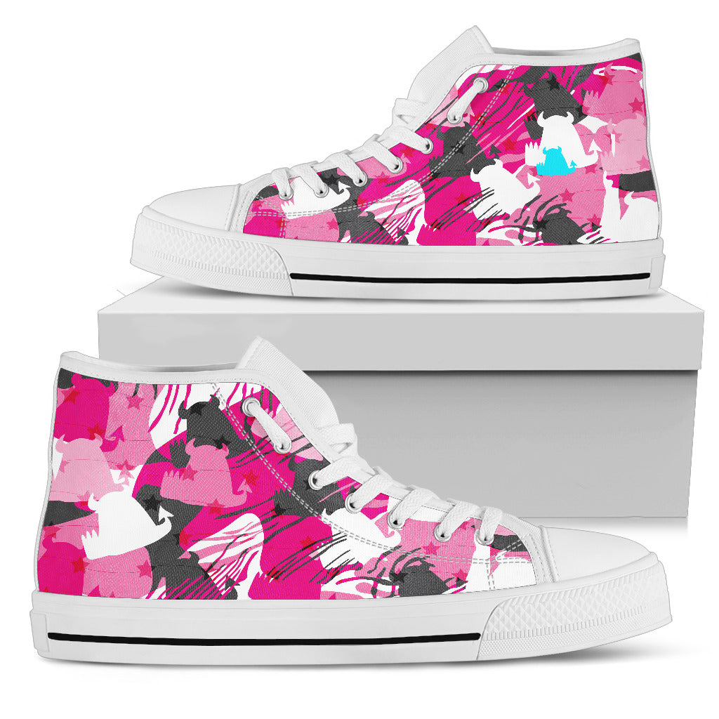 Ladies High Tops • Candy cammo • - Beasties Clothing