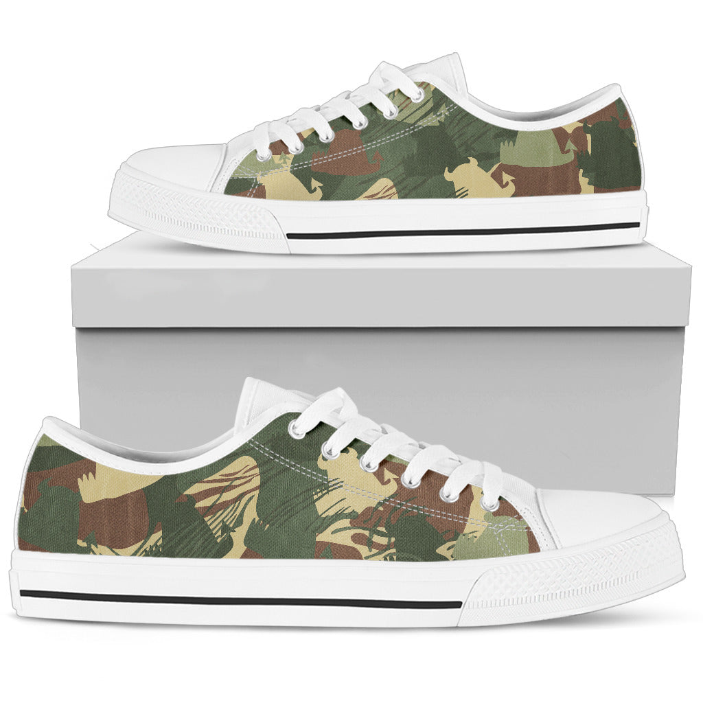 Women's Low Top • Rhodies Bush Beasties • - Beasties Clothing