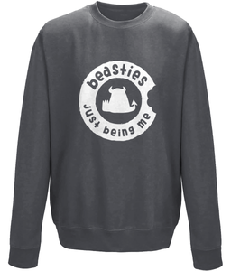 Beasties Sweatshirt • just being me • Unisex - Beasties Clothing