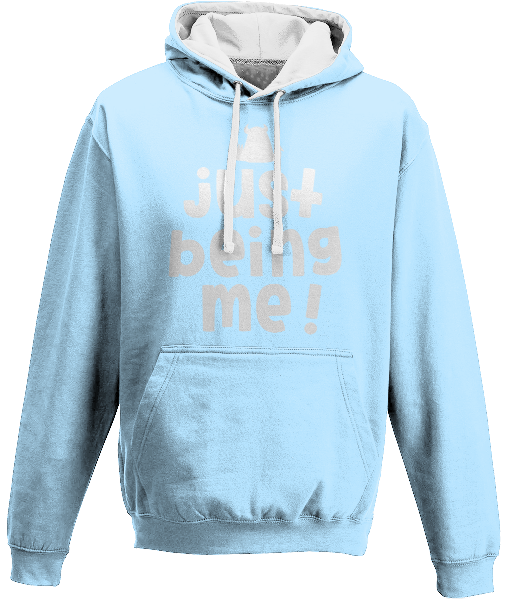 Varsity Hoodie  • Just being me • - Beasties Clothing