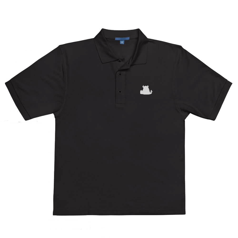 Beasties Premium Polo Shirt with White Icon