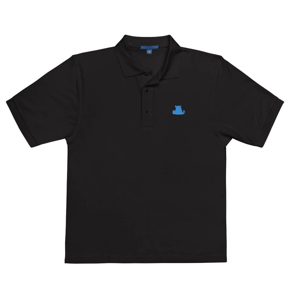Beasties Premium Polo with Blue Icon