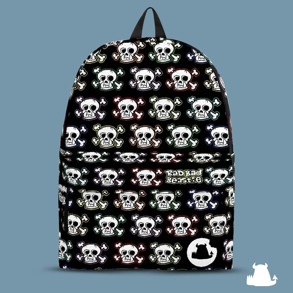 Beasties • Skull n x bones backpack • - Beasties Clothing