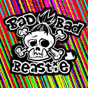 Bad Bad Beastie Canvas High Top - Stripe