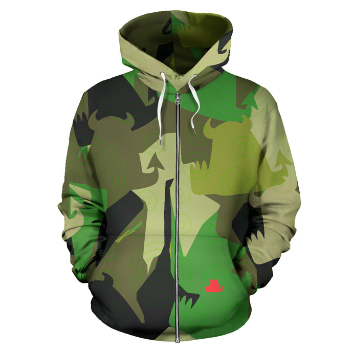 • Forest Fun • Hoodie with zip - Beasties Clothing