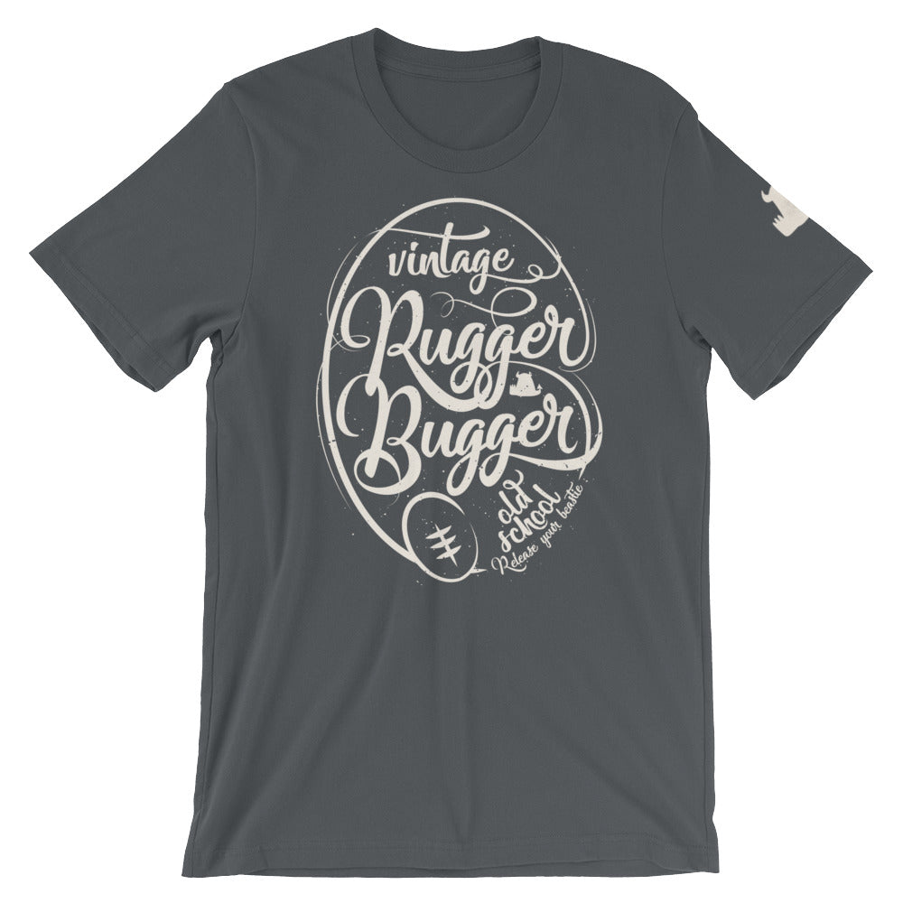 Vintage Rugger Bugger Old School T shirt • Old Men - Beasties Clothing