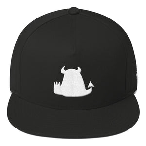 Flat Billed Cap - Embroidered - Beasties Clothing